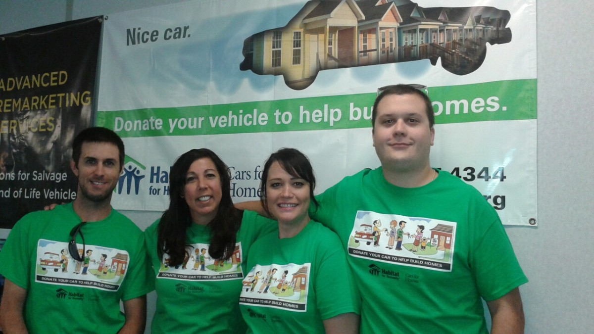 ARS Lends a Hand to Habitat for Humanity 2015