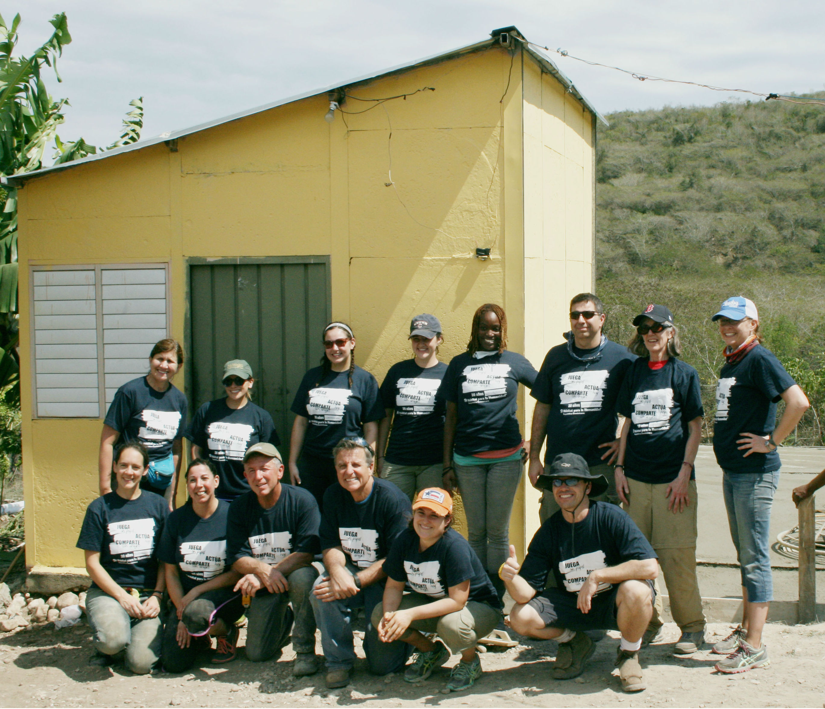 ARS & Habitat for Humanity visit the Dominican Republic