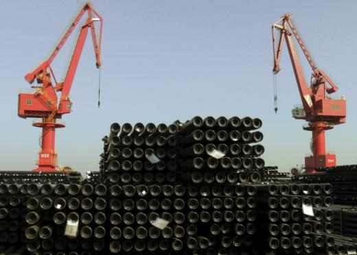 China's Steel Exports Fall in November