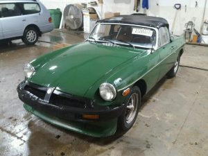 1977 MG MGB donated to Michigan Public Radio