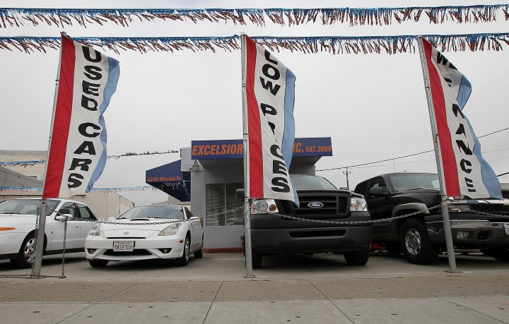 Used Car Market Prices Soften