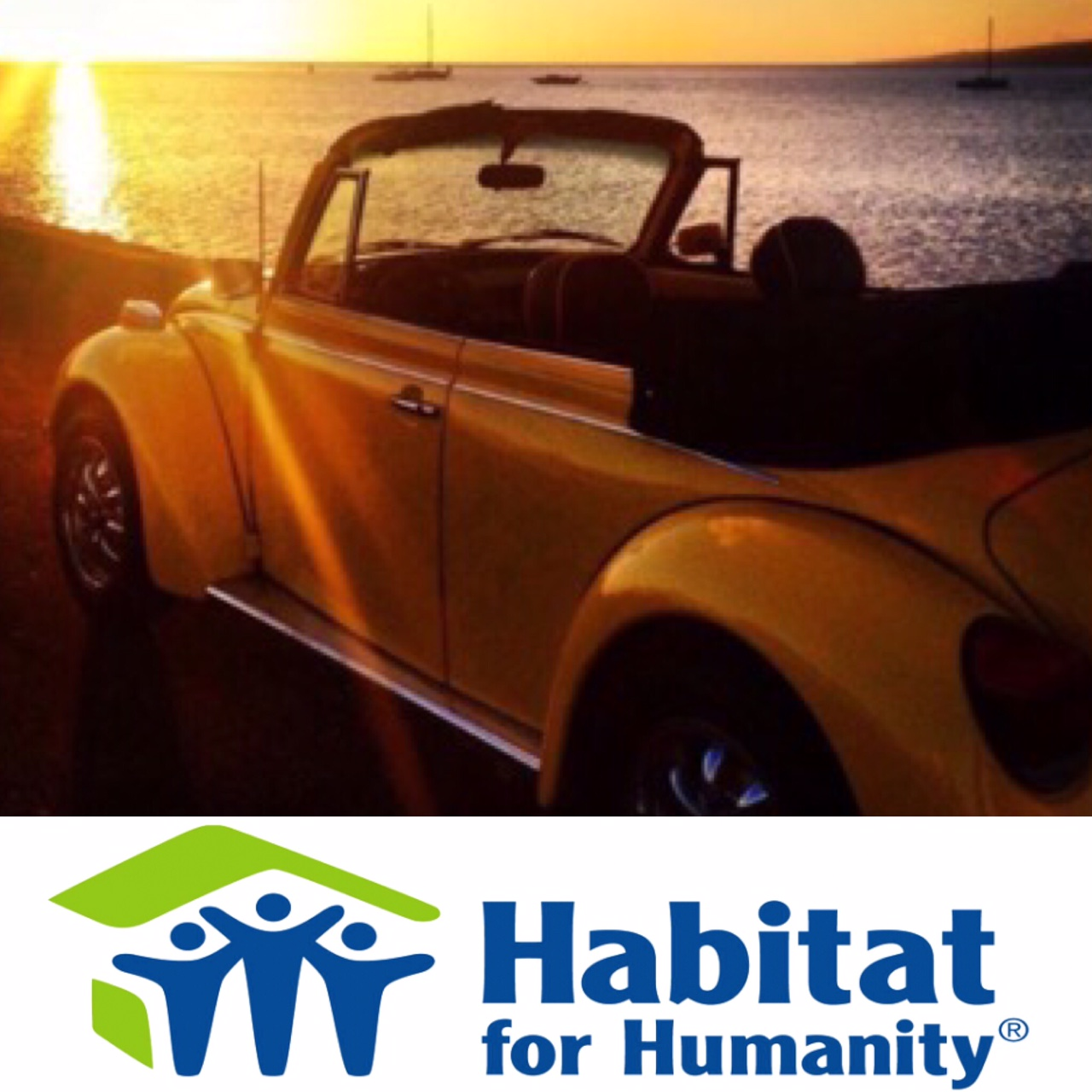 1975 Volkswagen Beetle Donated to Habitat for Humanity