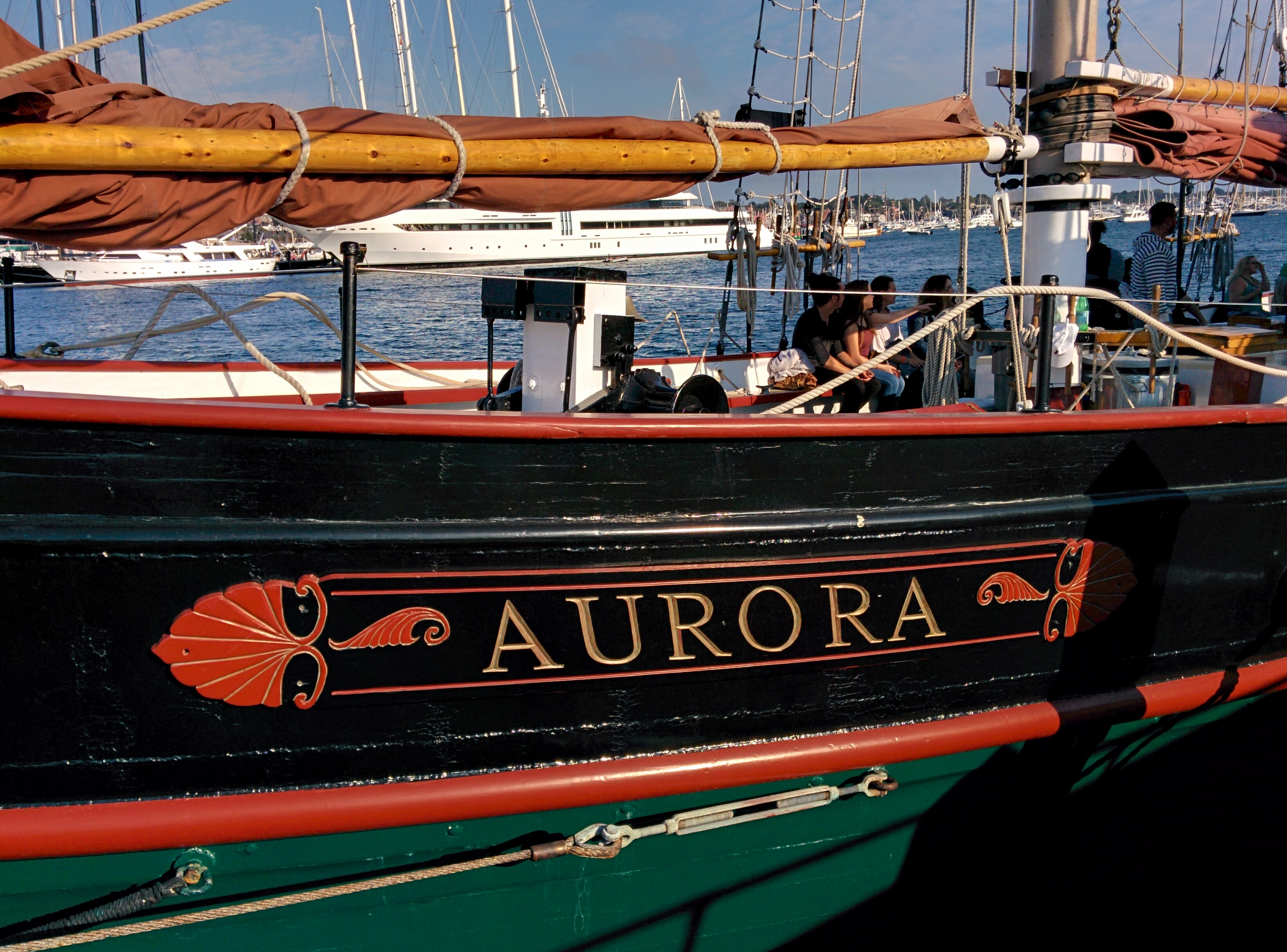 Sailing Aboard the Schooner Aurora