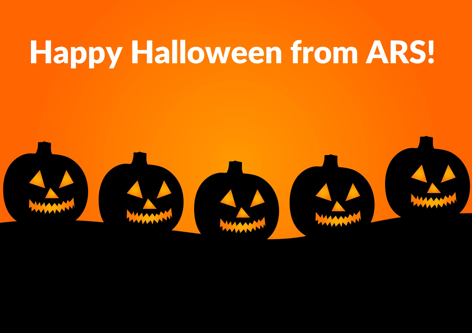 Happy Halloween from ARS - Advanced Remarketing Services
