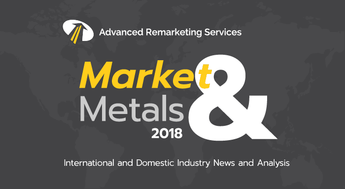 Markets & Metals. Scrap Metal Market Update. Steel prices up in December report. Values of scrap steel are up and down due to multiple factors.