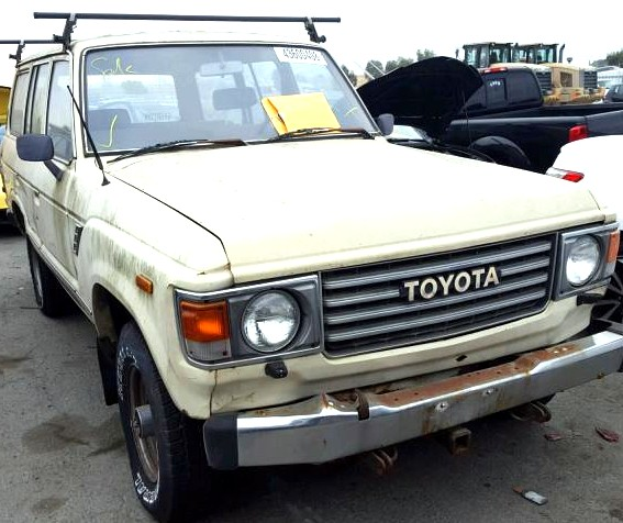 1984 Toyota Land Cruiser to Habitat for Humanity