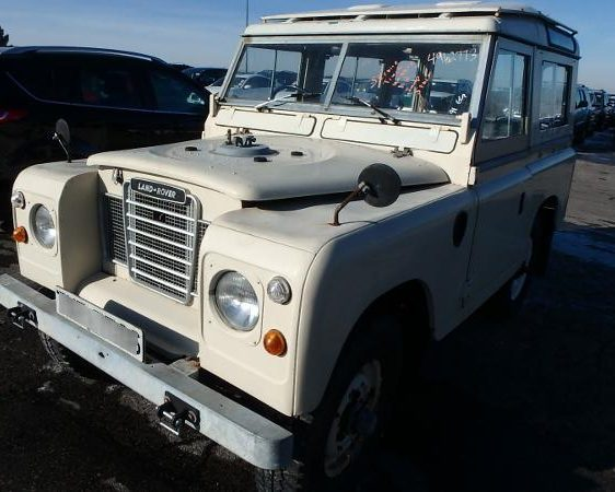 1978 Land Rover donated to KCUR