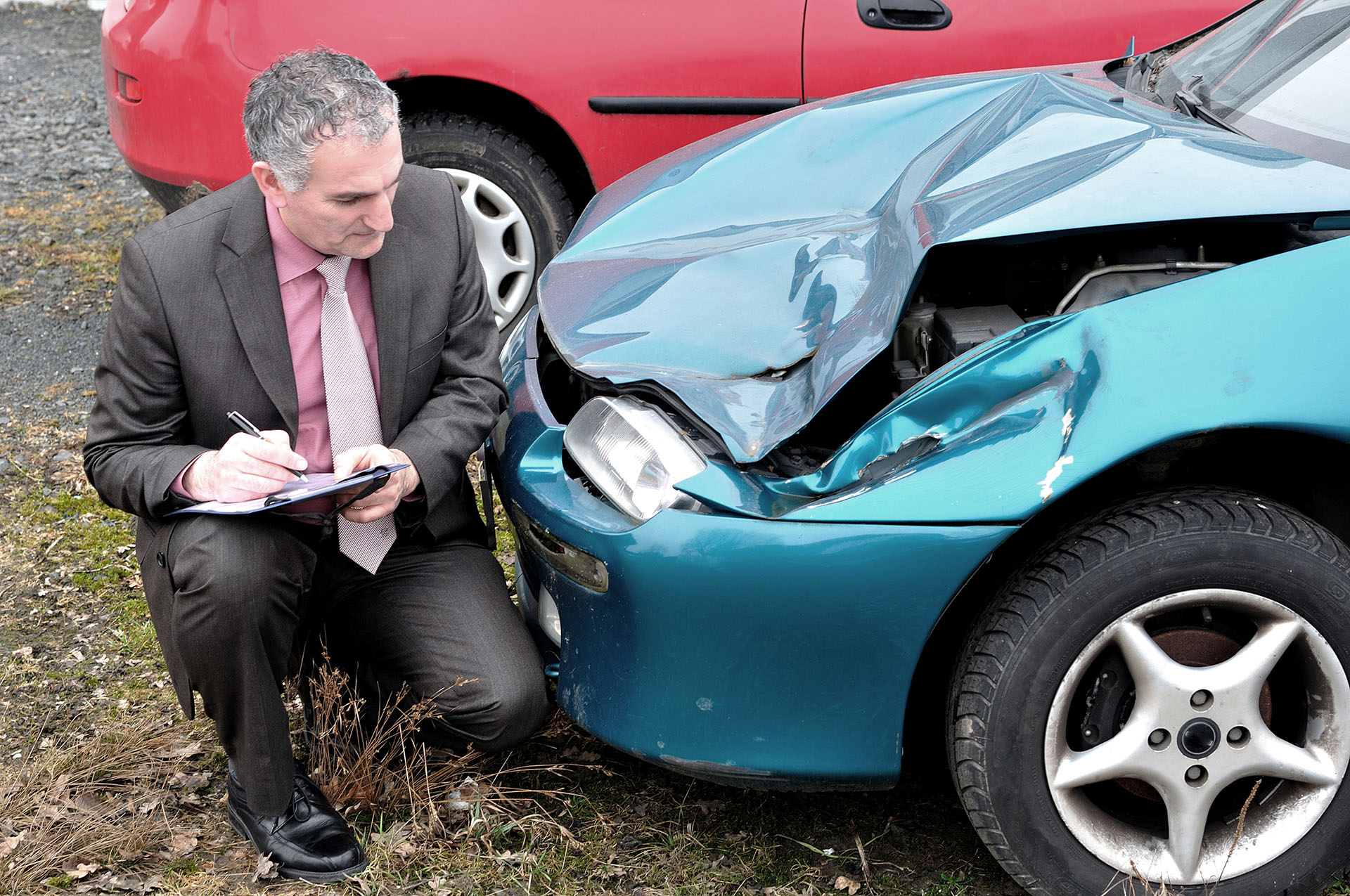 Determining if you car is a total loss.